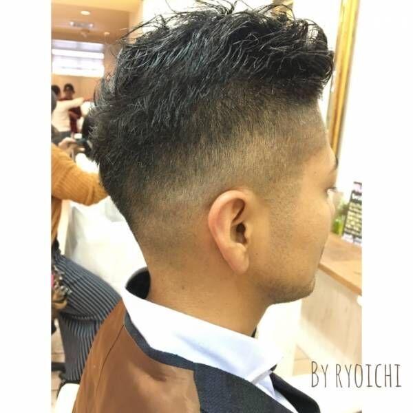 売れっ子営業マンの髪型における統一性