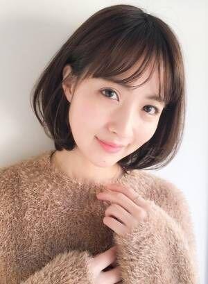 """30代・40代女性から圧倒的支持!2019春夏""""ひし形ボブ""""ヘアカタログ"""