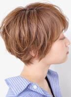 忙しい朝にオススメ!30代、40代時短ショートヘア
