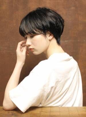 大人女子必見!似合わせ度バツグンな黒髪ショート10選