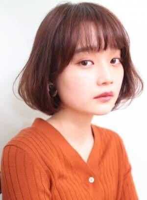 *30代、40代オトナ女性必見*バッサリ・ボブ急増中!!