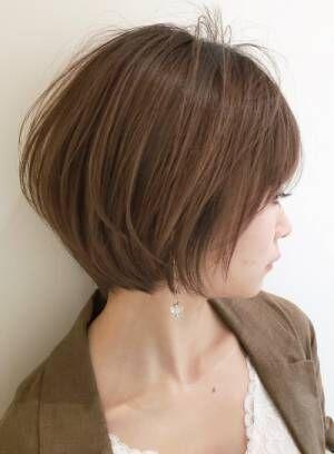 【長め.短め】◇ショートヘアにするか迷っている人に見て欲しいヘアカタログ【丸み.くびれ】