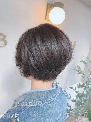 ☆クセ毛の方でもショートにできる☆