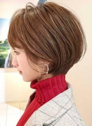 【耳掛けで美人度UP】短めのショートが不安な方に見て欲しいヘアカタログ☆