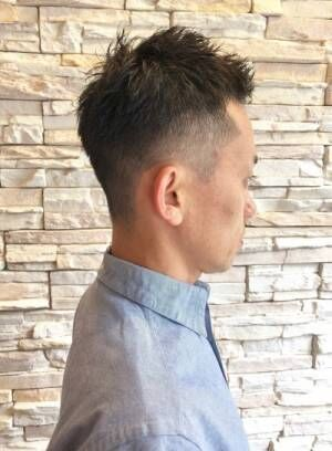 メンズ大人の髪型をよりかっこよくするポイントは、『無造作感』 男のショート・ベリーショートまとめ。