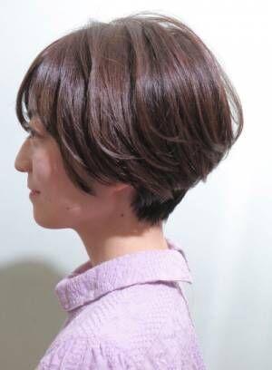 {40代オススメ}ボリュームUP&ツヤ髪を叶えるショートスタイル