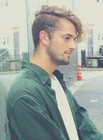 大人の男性におすすめな髪型「ツーブロックxポンパドール」