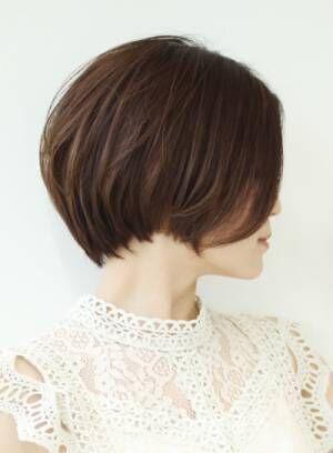 30代からのおとな女性におすすめどこから見ても綺麗なシルエットの髪形集☆