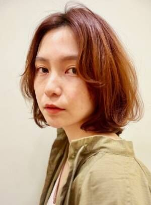 【30〜40代におすすめ!】外国人風パーマボブ・ミディ