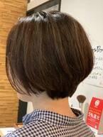 日々のお客様のヘアスタイル