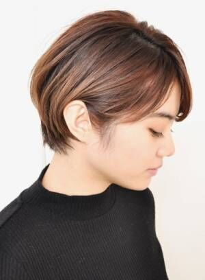 美シルエットな耳掛けショートヘア特集☆