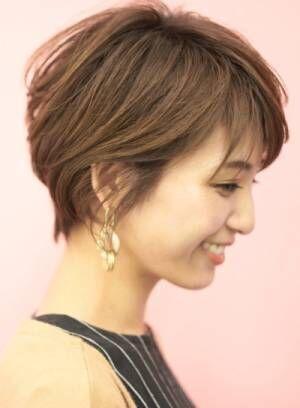 【絶壁な頭とサヨナラ◎】綺麗なシルエットのショートヘア