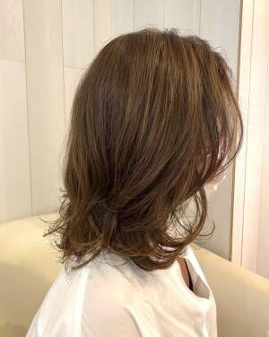 【30代・40代〜大人女性におススメ!ベージュカラー・白髪を活かすハイライトカラー★】