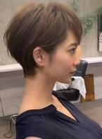 ☆どの角度で見ても綺麗なショートヘア特集☆