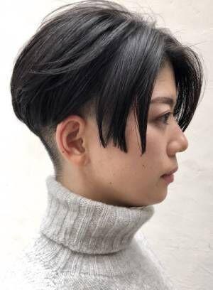 ちょっと個性的な髪型にオーダー殺到!!お客様から人気のショートヘア髪型4選。