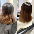乾かすだけで艶やかにまとまる!髪質改善トリートメントの効果!!