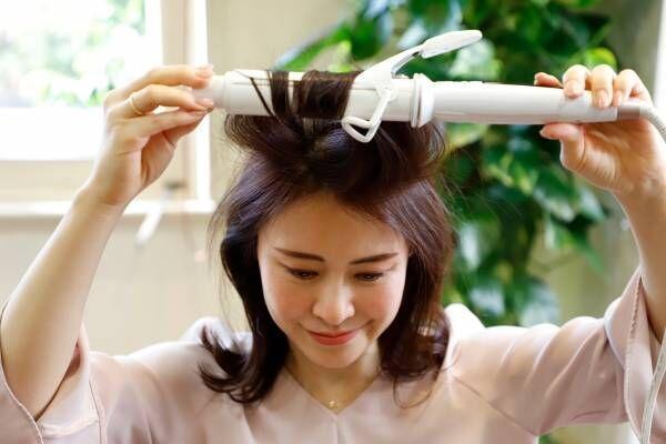 簡単セルフヘアセットプロセス『ミディアム版』