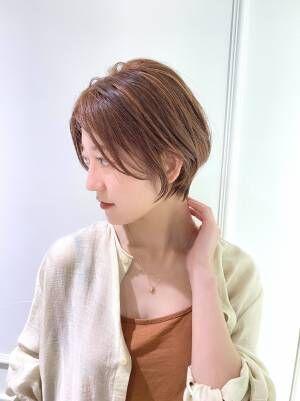 2021年春夏にオススメ☆お手入れ簡単!美人ショートヘア特集♢