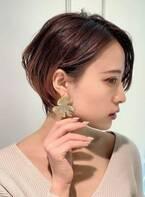 40代・50代大人女性向け☆スタイリング簡単美人ショートヘア♢