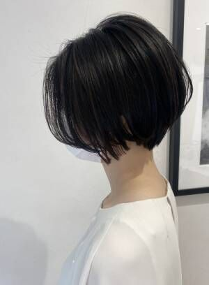 オーダー多数の髪質改善で、魅力を引き出す大人可愛いショートボブ