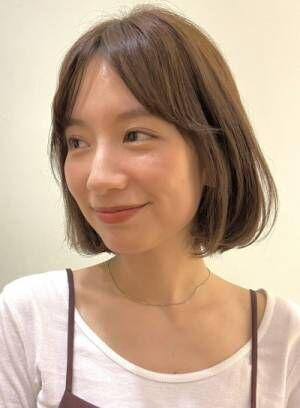 忙しい大人女性にオススメ*ボブスタイル特集〜野川涼太〜