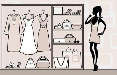 収納のお悩みをおしゃれに解決!洋服やアクセサリーなどのオシャレな見せ方