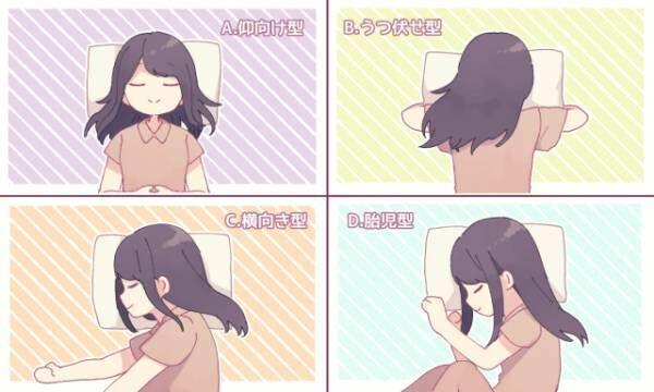 【心理テスト】寝るときの体勢で分かるあなたの深層心理!