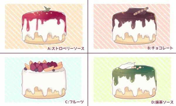 【心理テスト】ケーキでわかる? あなたが幸せになれる恋愛は…?