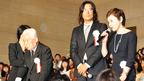 99歳の新藤兼人監督が天皇陛下御臨席の試写会で舞台挨拶