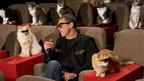 """バンデラス、ネコに囲まれヒットを確信? ハリウッドで""""ネコ""""限定プレミア開催"""