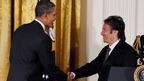 アル・パチーノ、国民芸術勲章を受章 ホワイトハウスでオバマ大統領が表彰