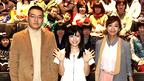 優香&美山加恋、『ももへの手紙』を引っさげ被災地にエール!