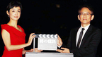 草刈民代&周防正行監督、「ミッドタウン・クリスマス2012」点灯式に仲良く出席!
