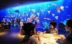 夏はクリエイティブな体験を!「チームラボ お絵かき水族館」がファミリア銀座本店にて開催