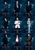 ボンド率いる8人のキャラクタービジュアル一挙解禁!『007 スペクター』
