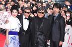 舘ひろし&柴田恭兵、歌舞伎町のレッドカーペット降臨に千人熱狂!
