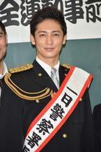 玉木宏、念願の一日警察署長を務めるもプライベートでは「職質はよくある」