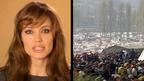 アンジェリーナ・ジョリーが「世界難民の日」公共広告に出演