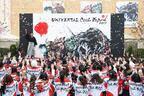 【USJ】「ユニバーサル・クールジャパン 2017」開幕宣言!15周年大使・松岡修造「やりすぎだよ!」