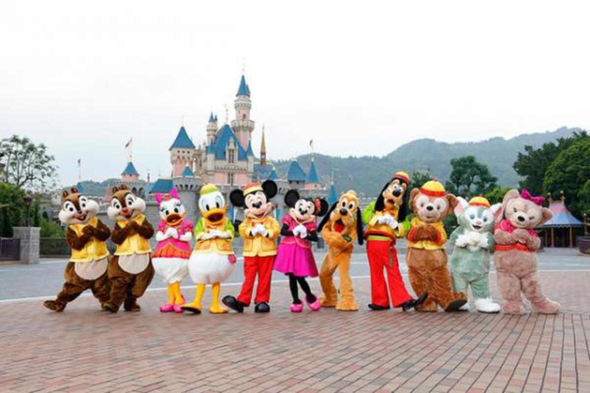 香港ディズニー】旧正月イベントがスタート!春節コスのジェラトーニが