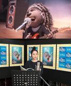 長澤まさみ、失恋ソングを熱唱!「挑戦だった」 『SING』本編映像公開