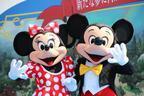 """【ディズニー】""""美女と野獣""""エリア誕生をミッキー&ミニーも祝福!ランド大規模開発エリア起工式"""