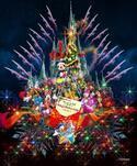 【ディズニー】クリスマス! 新キャッスルプロジェクションがスタート!