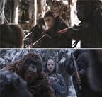 【予告編】家族を失ったシーザー、人類との最終決戦へ『猿の惑星:聖戦記』