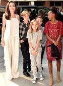 アンジェリーナ・ジョリー、子どもたちとトロント映画祭に出席