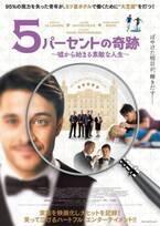 ドイツで大ヒット! ほぼ全盲の青年の心震わす実話『5パーセントの奇跡』日本公開決定