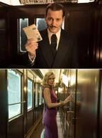 """ジョニデvsミシェル、豪華列車で""""婚活""""!? 映像入手『オリエント急行殺人事件』"""