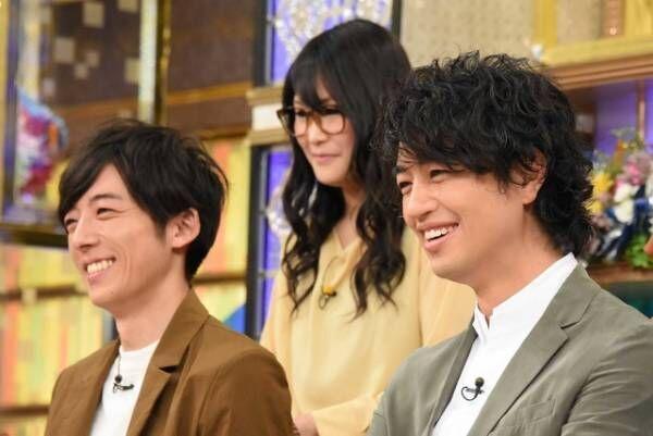 高橋一生&斎藤工/「あのニュースで得する人損する人」(C)NTV