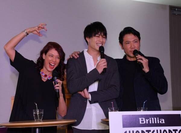 LiLiCo、鈴木伸之、別所哲也/「ブリリア ショートショートシアター オンライン」開設記念イベント