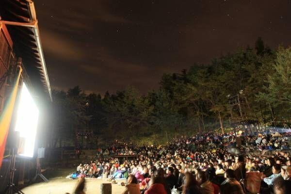 「夜空と交差する森の映画祭2018」Doryu Takebe ( BLUE STAR MAGAZINE )